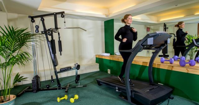 The gym - BW Park Hotel Rome Fiano Romano
